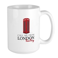 Call Me From London Mugs