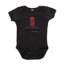 Call Me From London Baby Bodysuit