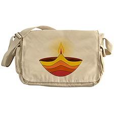 Cute Diwali Messenger Bag