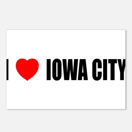I Love Iowa City Postcards (Package of 8)