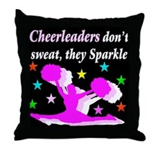 SPARKLING CHEER Throw Pillow