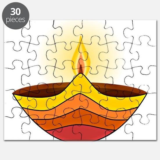 Unique Lamp Puzzle