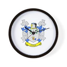 O'DEA Coat of Arms Wall Clock