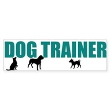 Dog Trainer Car Sticker