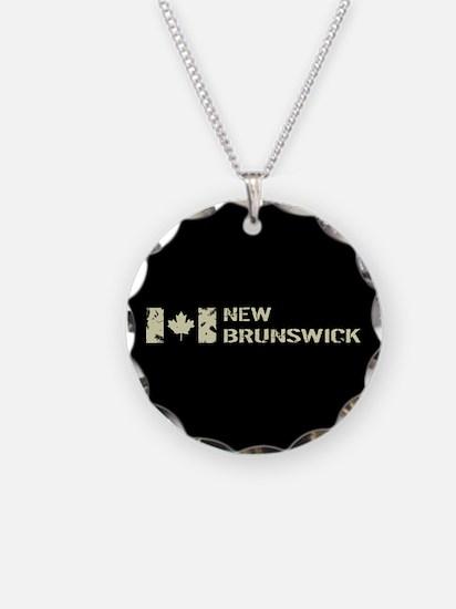 Canadian Flag: New Brunswick Necklace