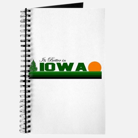 Its Better in Iowa Journal