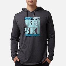 Skiing T Shirt Long Sleeve T-Shirt