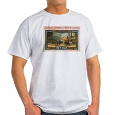 Ben Hur Chariot Race Vintage Poster T-Shirt
