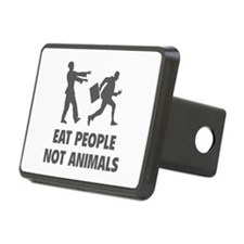 Eat people not animal Hitch Cover