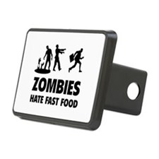 Zombies hate fast food Hitch Cover