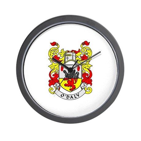 O'DALY Coat of Arms Wall Clock