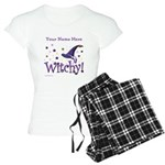 Witchy Personalize Women's Light Pajamas