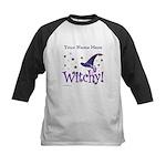 Witchy Personalize Baseball Jersey