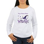 Witchy Personalize Long Sleeve T-Shirt