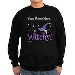 Witchy Personalize Sweatshirt (dark)