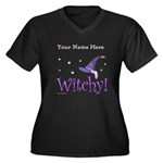 Witchy Personalize Plus Size T-Shirt