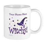 Witchy Personalize Mugs