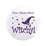 """Witchy Personalize 3.5"""" Button (100 Pack)"""