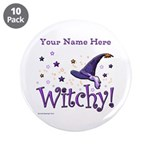 """Witchy Personalize 3.5"""" Button (10 Pack)"""