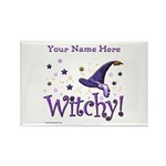Witchy Personalize Magnets