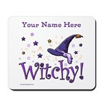 Witchy Personalize Mousepad