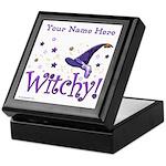 Witchy Personalize Keepsake Box