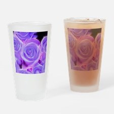 Cute Purple rose professional photo Drinking Glass