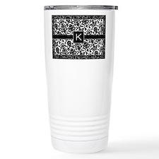 Cute Damask Thermos Mug
