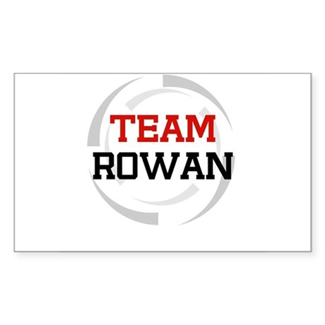 Rowan Rectangle Sticker