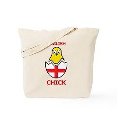English Chick Tote Bag
