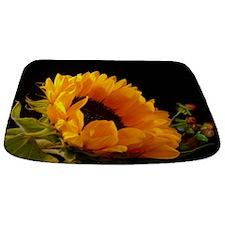 Cute Sunflower Bathmat