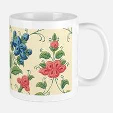 Beautiful Vintage Flora Design Mugs