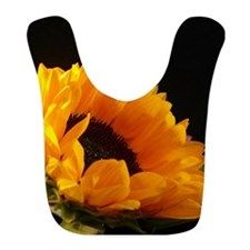 Cute Sunflowers Bib