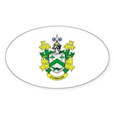 O'CORRIGAN Coat of Arms Oval Decal