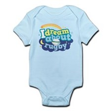 I Dream About Rugby Infant Bodysuit