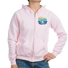 I Dream About Rugby Zip Hoodie