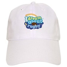 I Dream About Rugby Baseball Cap