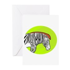 Zebra Animal Greeting Cards (Pack of 6)