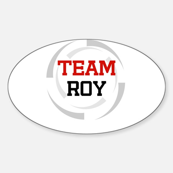 Roy Oval Decal