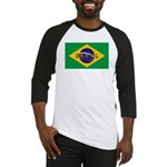 Brazil Flag Baseball Jersey