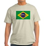 Brazil Flag Light T-Shirt