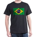 Brazil Flag Dark T-Shirt