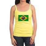 Brazil Flag Jr. Spaghetti Tank