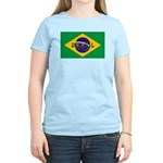Brazil Flag Women's Light T-Shirt