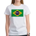 Brazil Flag Women's T-Shirt