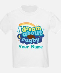 Personalized Rugby Fan T-Shirt