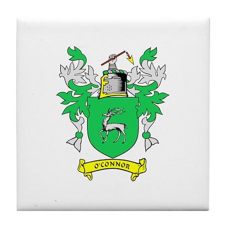 O'CONNOR Coat of Arms Tile Coaster