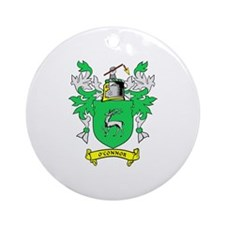 O'CONNOR Coat of Arms Ornament (Round)