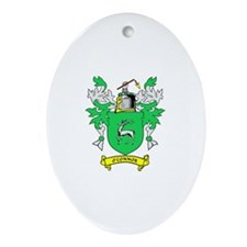 O'CONNOR Coat of Arms Oval Ornament
