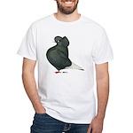 Dun Cap Flight White T-Shirt